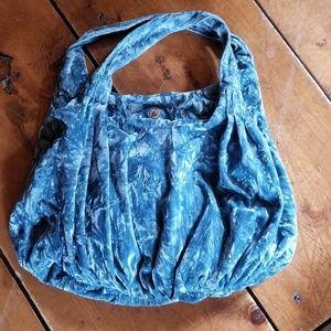 Velvet boho bag